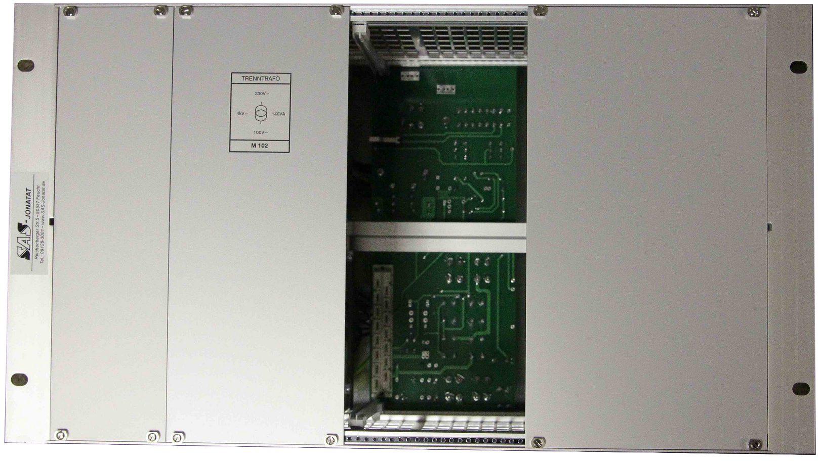 Kundenspezifischer Überrahmen Baugruppenträger für Wechselrichter FWR 150 /220, FWR 150/110, FWR 150/60, FWR 150/48, Sinuswandler