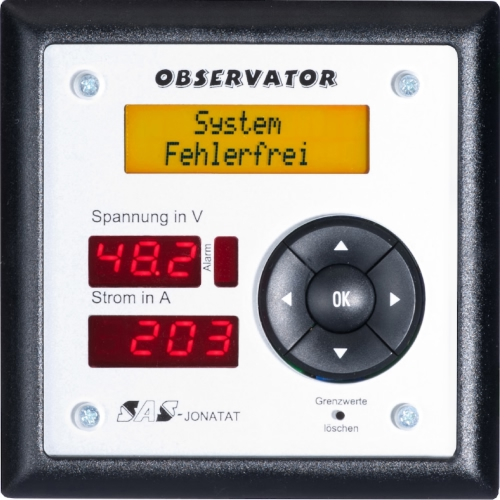 Gleichspannungs-Systemüberwachung Observator